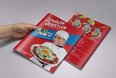 Kucuk lezzetler menu tasarimlari