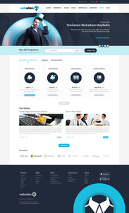 Webadam web hosting arayuz tasarim