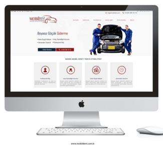 Mobildent web sitesi tasarimi