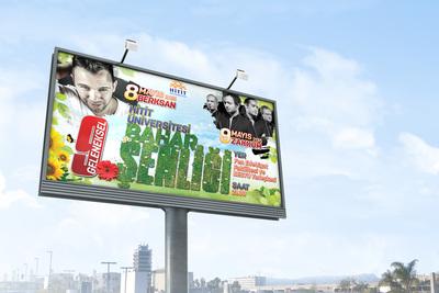 Hitit  niversitesi bahar  enli i billboard