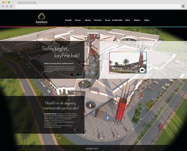 Bamboo web sayfas   redesign  psd
