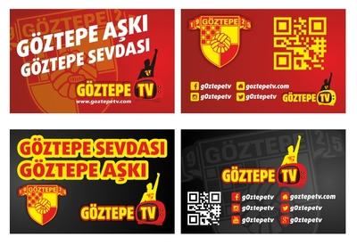 Goztepe tv kartvizit tasarimi