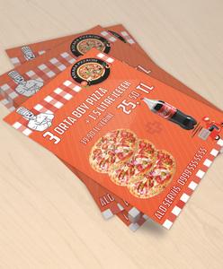 Pizza mockup