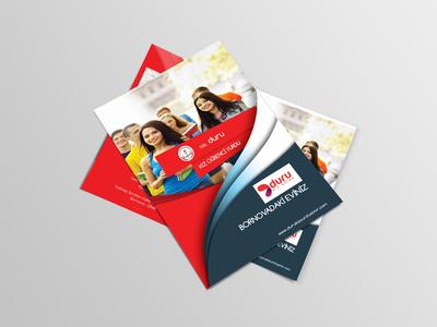 Bifold brochure mockup   free