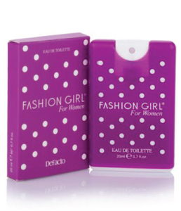 Fashion girl kaset parfum