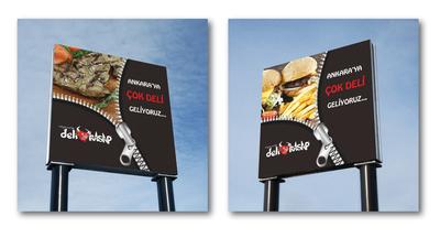 Deli kasap billboard