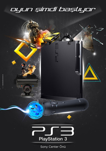 Playstation 3 poster by darkmonarch d4n3hh9