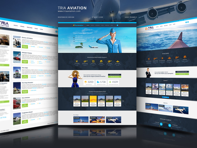 Tria aviation web