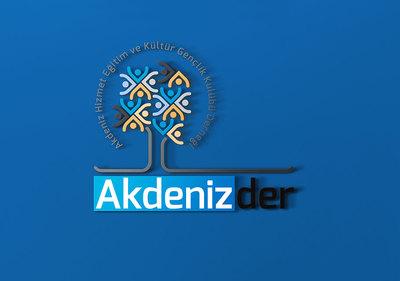 Akdenizder logo tasarimi 2