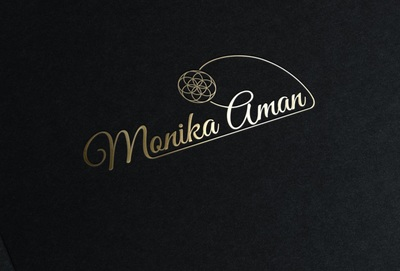 Monngold stamping logo mock up