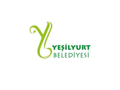 Yesilyur belediyesi logo calismasi
