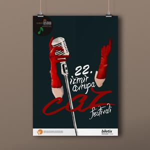 Caz poster mockup