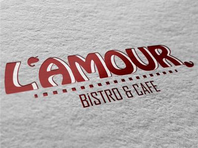 Lamour bistro logo son