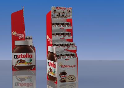 Nutella jenerik cutout stand