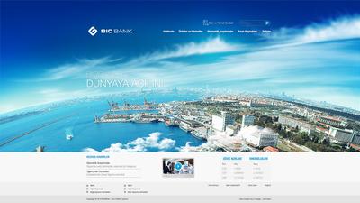 Bicbank web arayuz