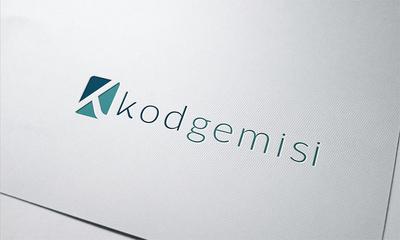 Kod gemisi logo mock