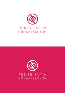Pembe butik organizasyon logo
