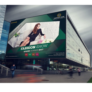 Fashion show outdoor