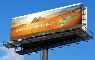 Rixos sharm billboard